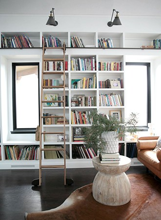step home library ideas