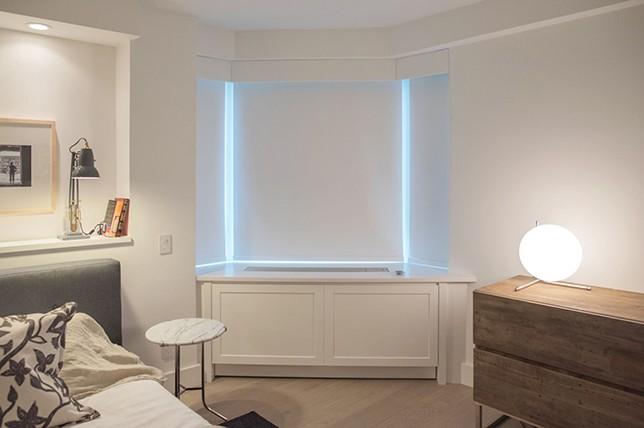 covered radiator bedroom storage ideas