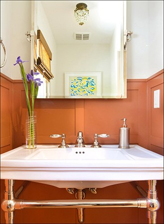 Cinnamon Bathroom Paint Colors