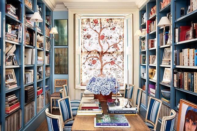 stylish modern home library ideas