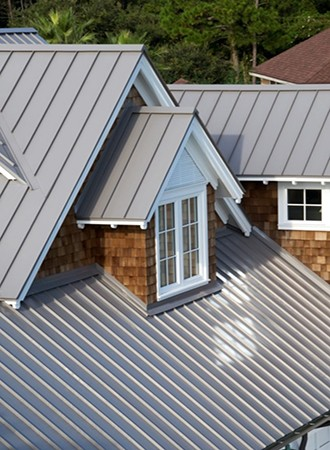 aluminum metal roofing ideas