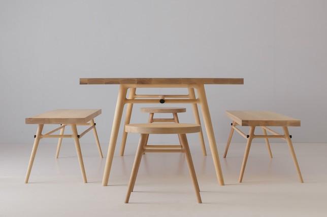 Laon Studios Bough comedor conjunto de mesa[