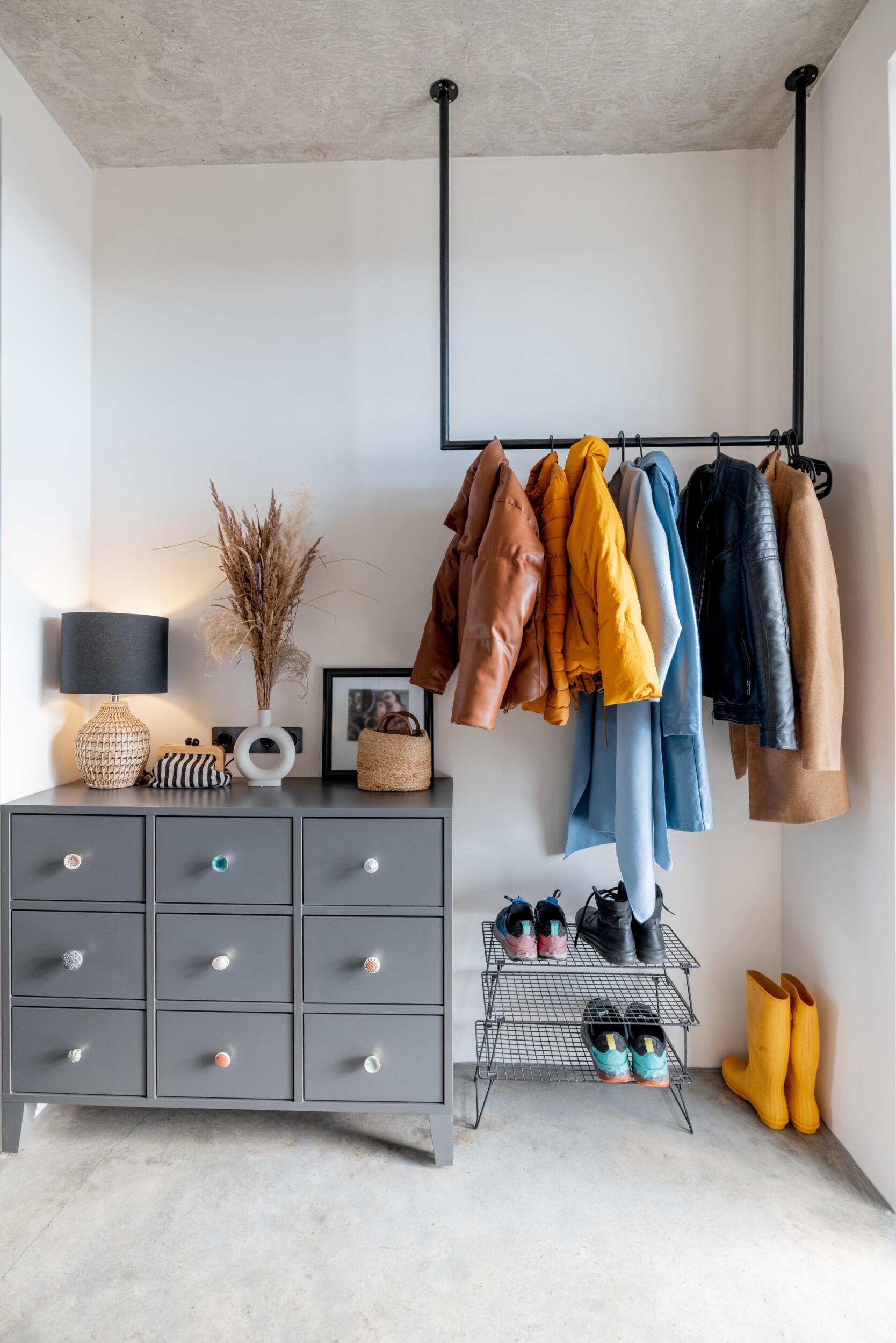Unique hallway furniture design