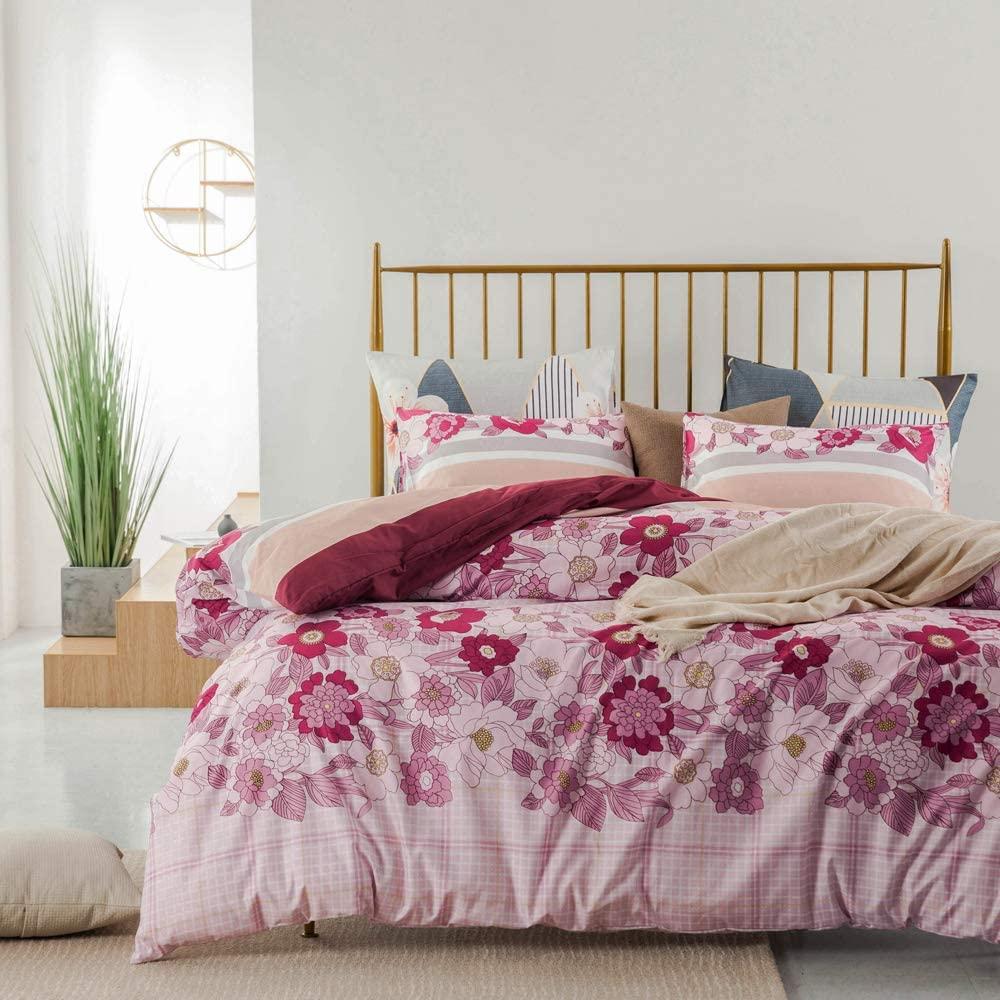 bedding layered patterns