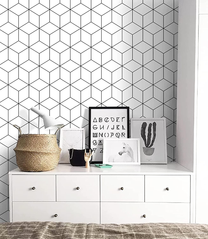 bold geometric wallpaper