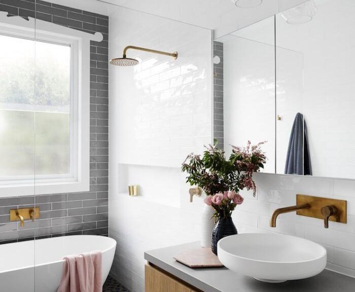 copper bathroom design
