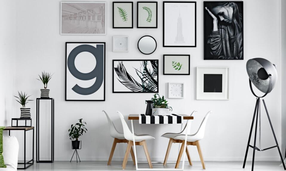 diy wall art gallery