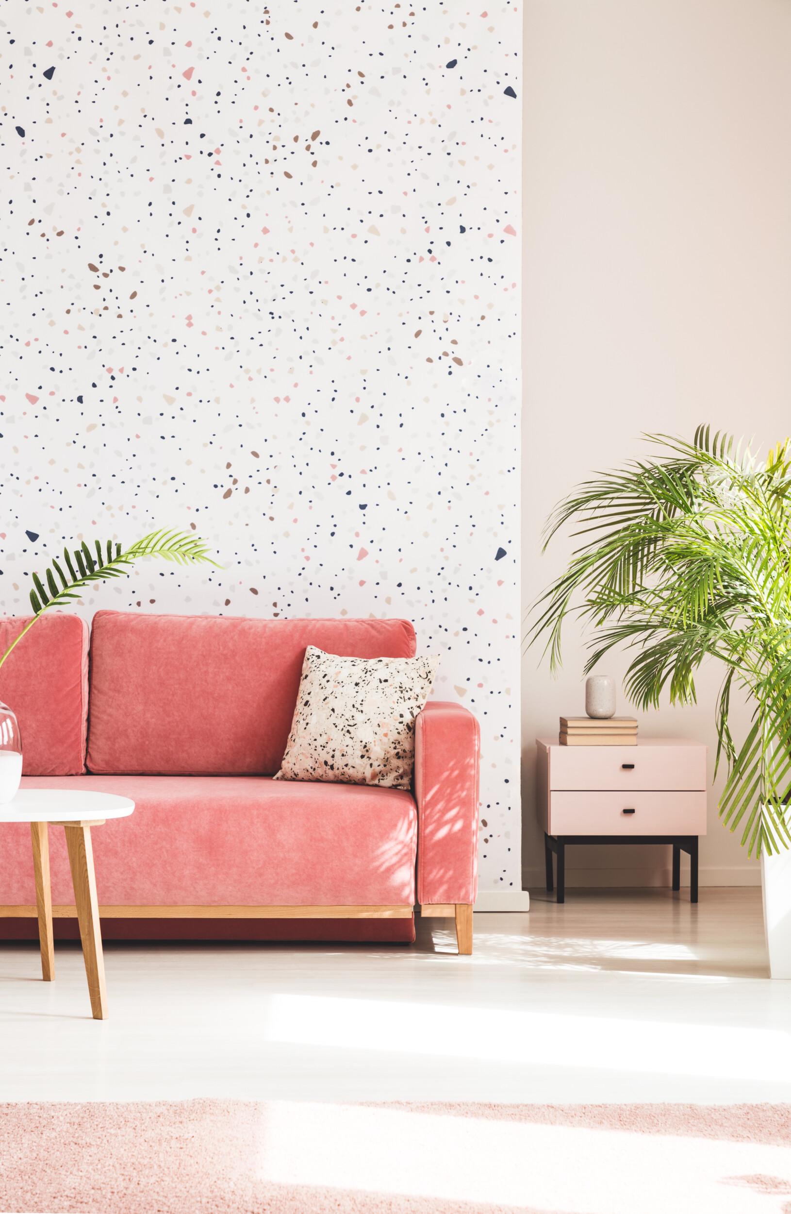 dotted wallpaper design