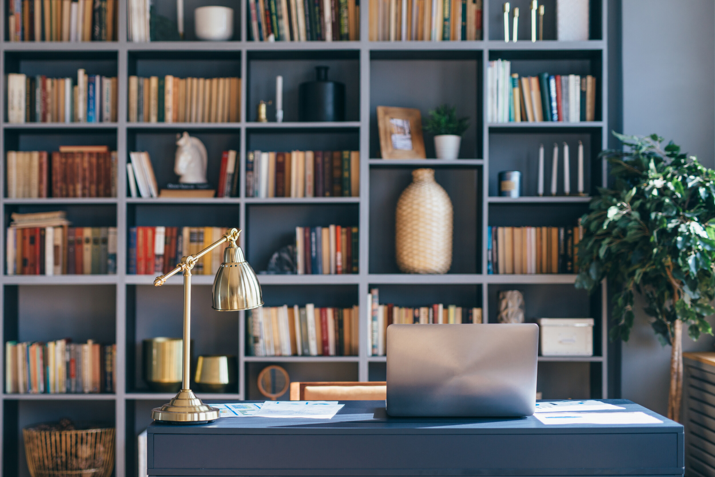 home library decors