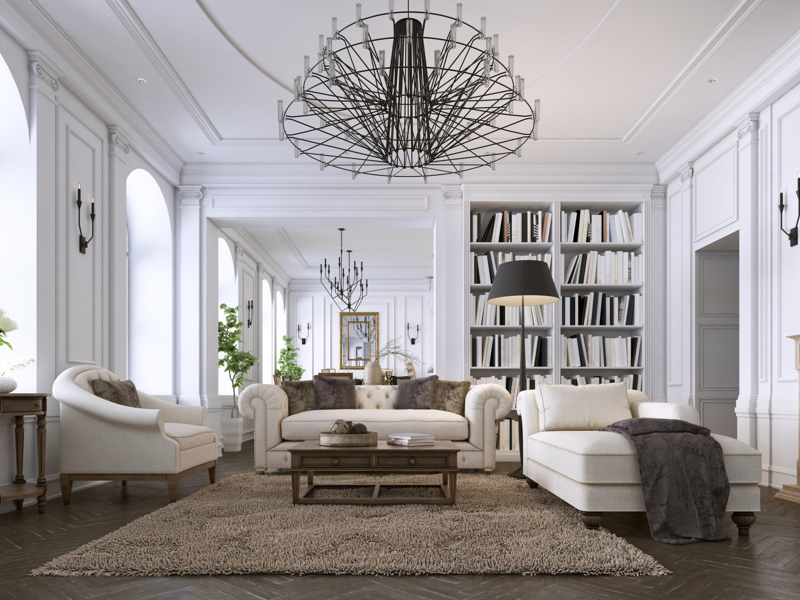 8 Luxurious Living Room Interior Design, Living Room Luxury