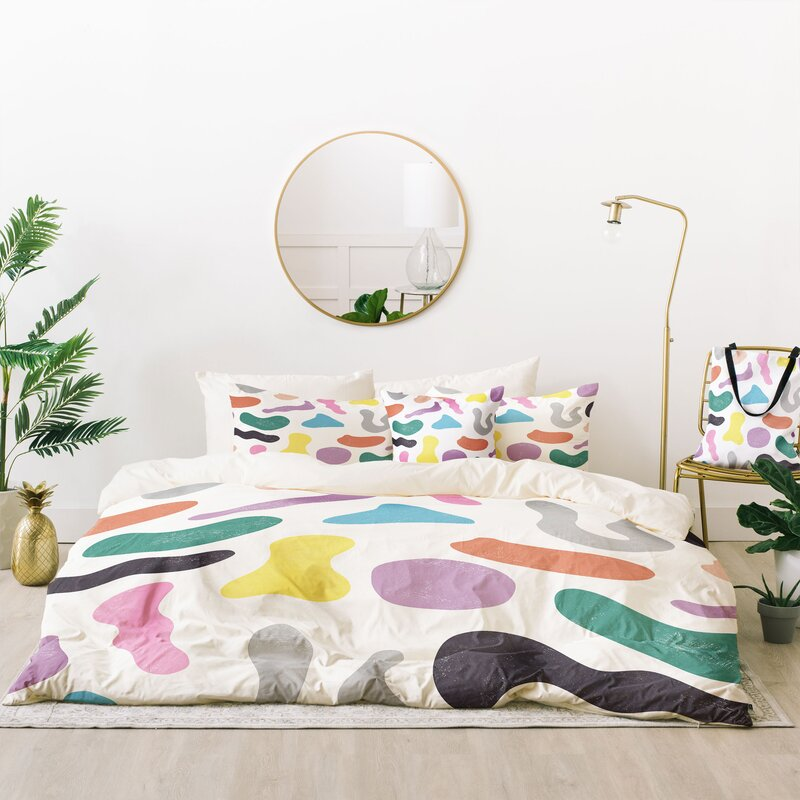 memphis design bedding