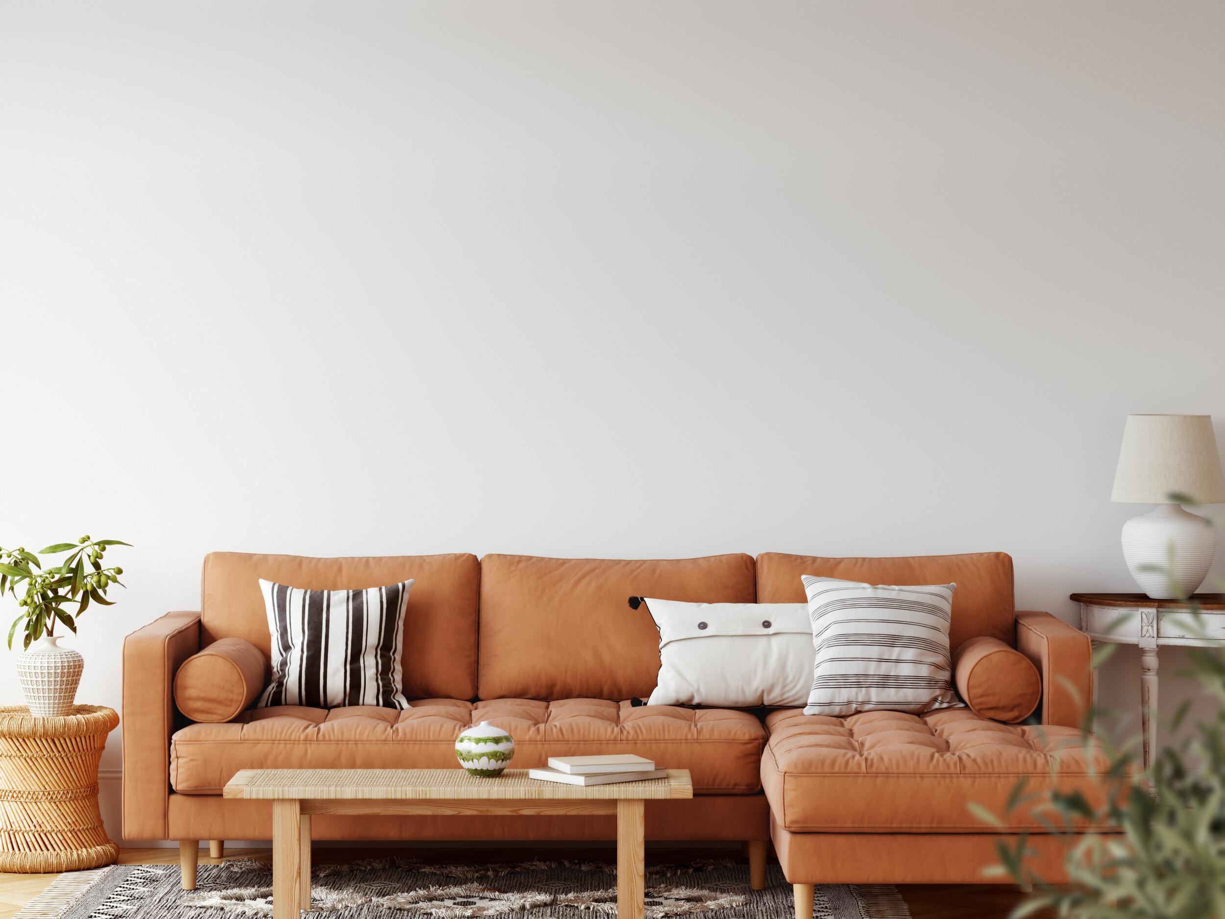modern comfy sofa living room