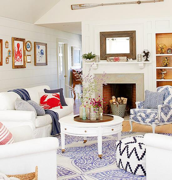 nautical inspired living room