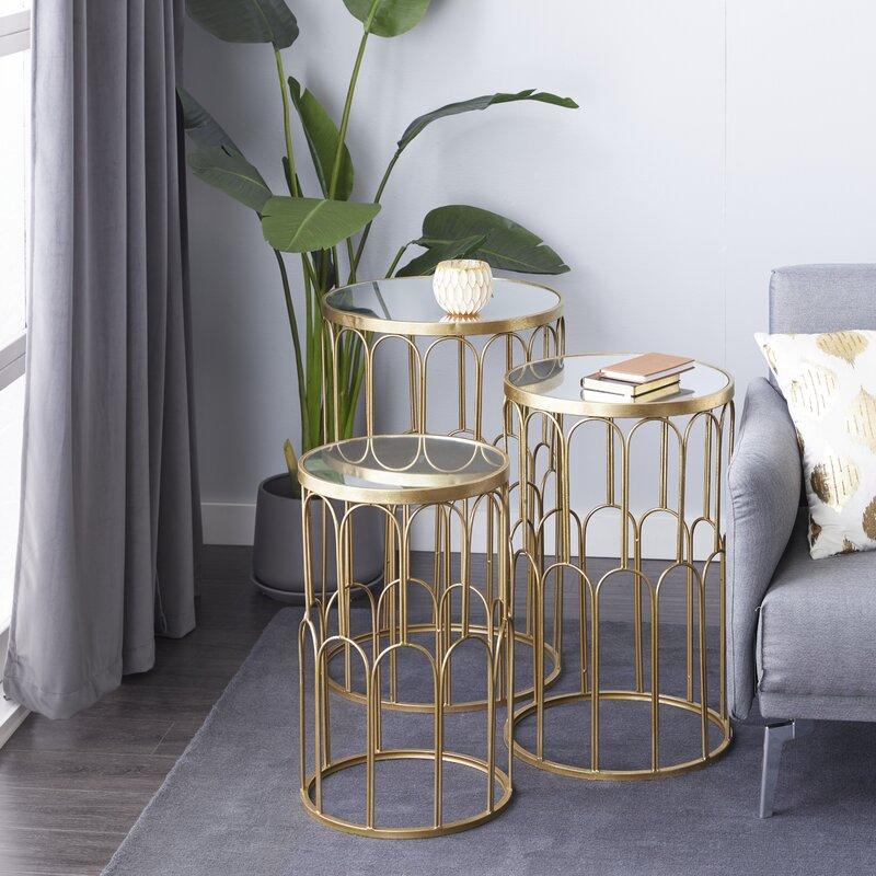 nesting tables living room
