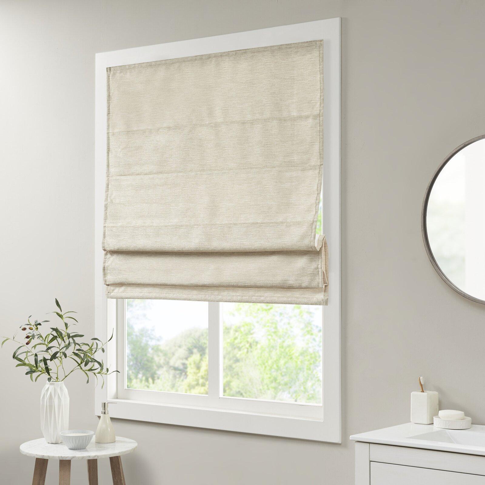 silk shades window treatment