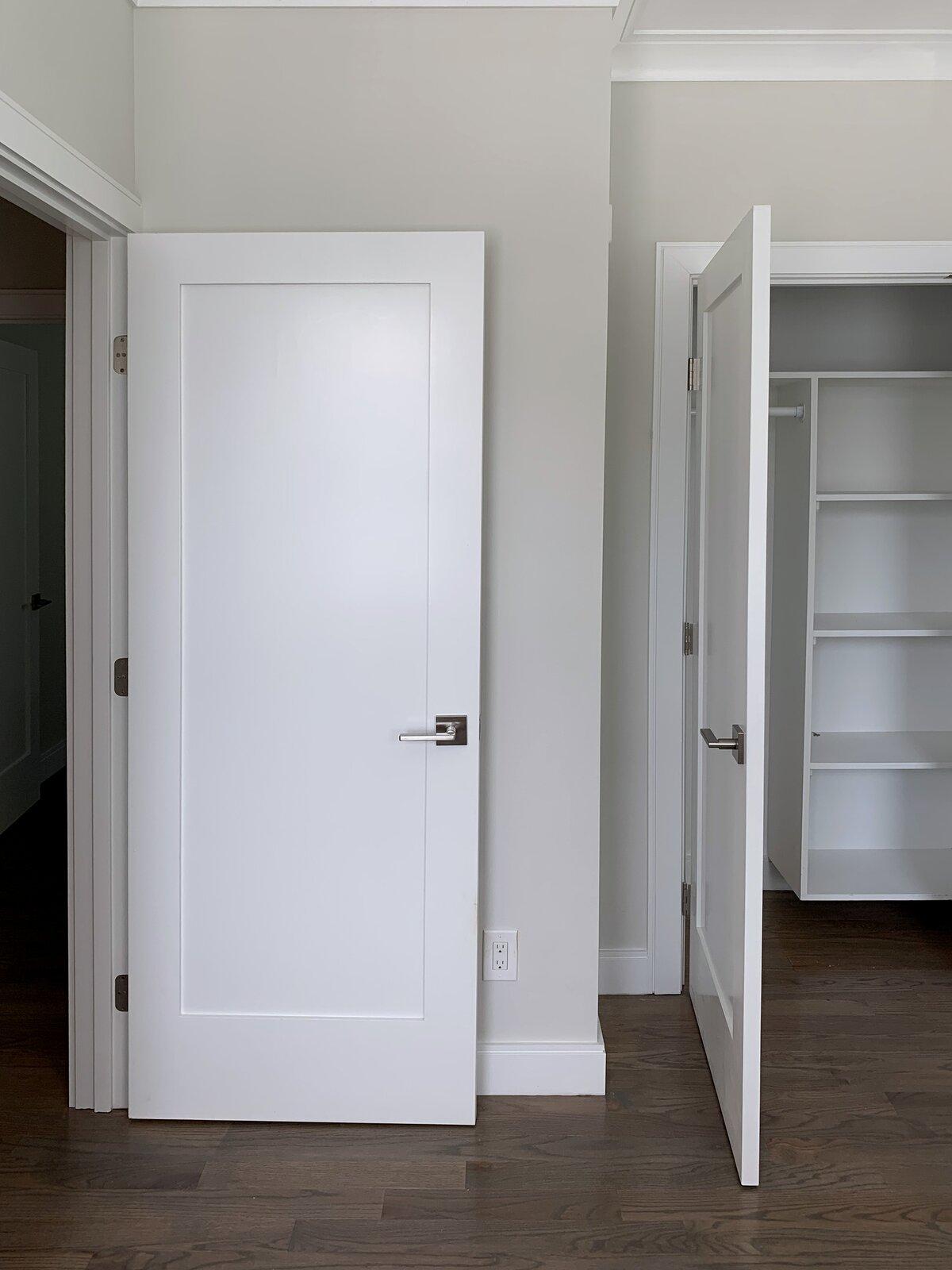 slide panel closet door