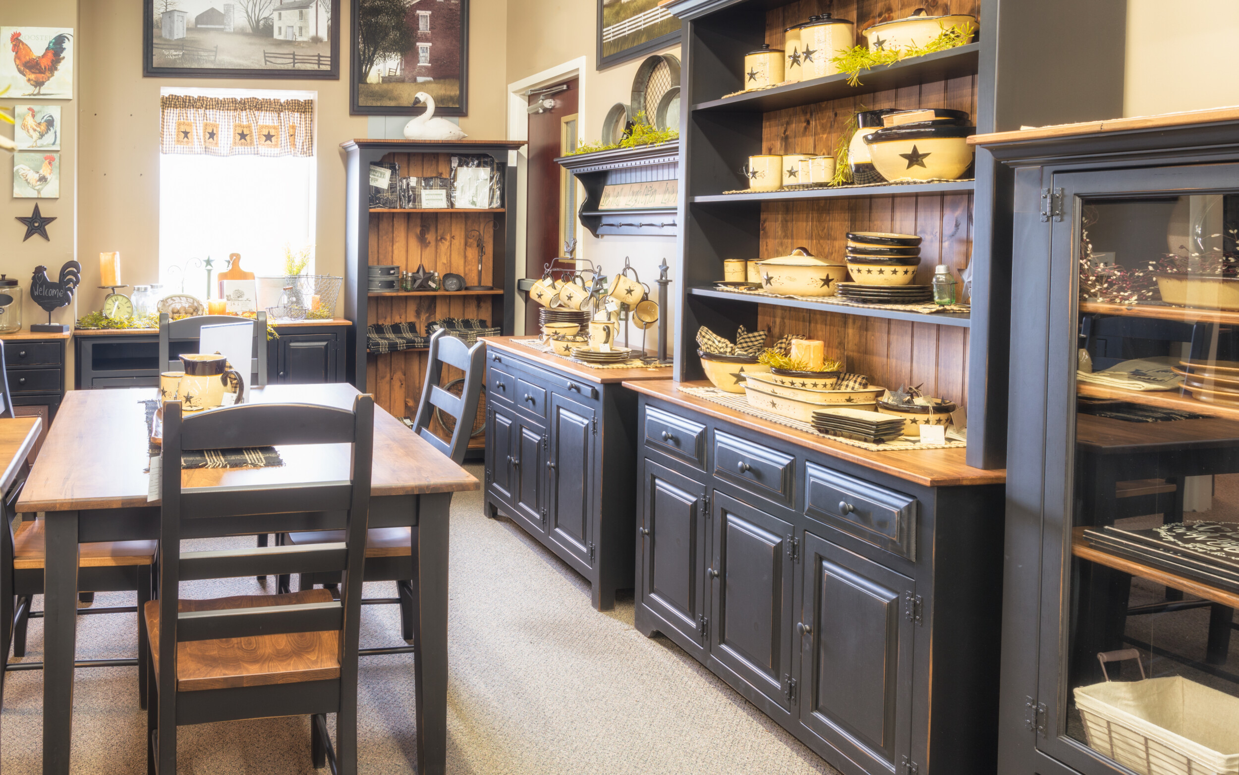traditional kitchen armoire