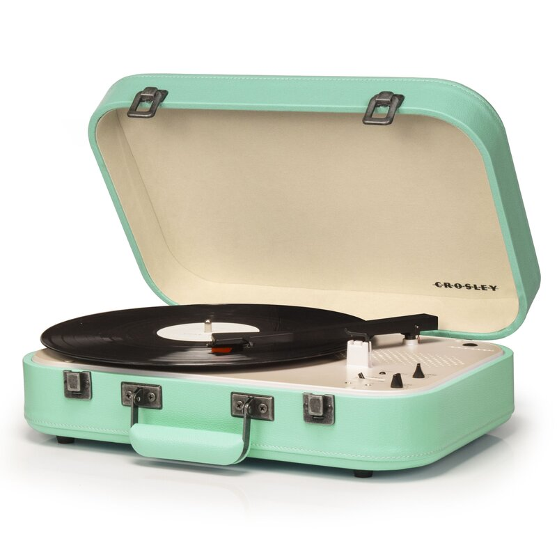 vintage mint record player