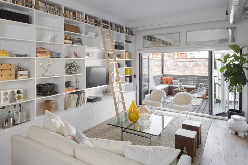 A Townhouse Home Staging In Hoboken