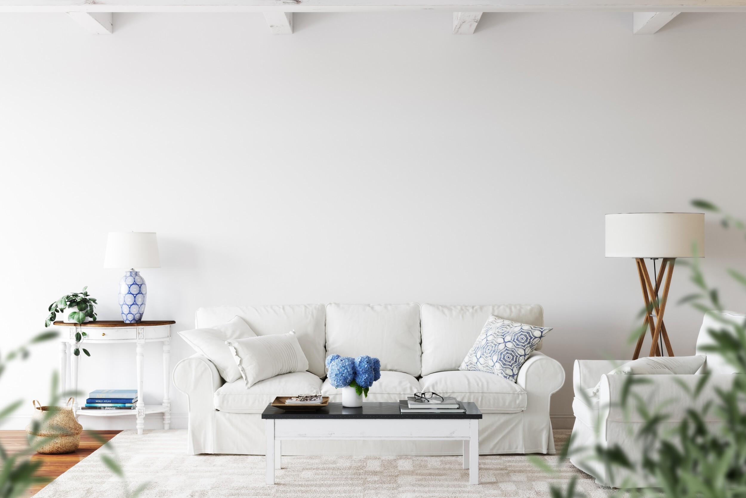 Coastal Scandinavian interior style