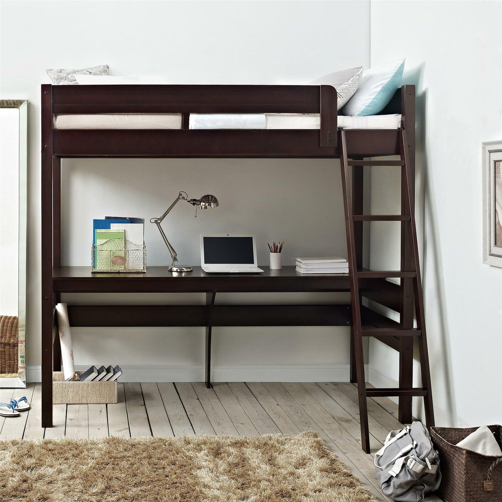 Loft Desk Bed