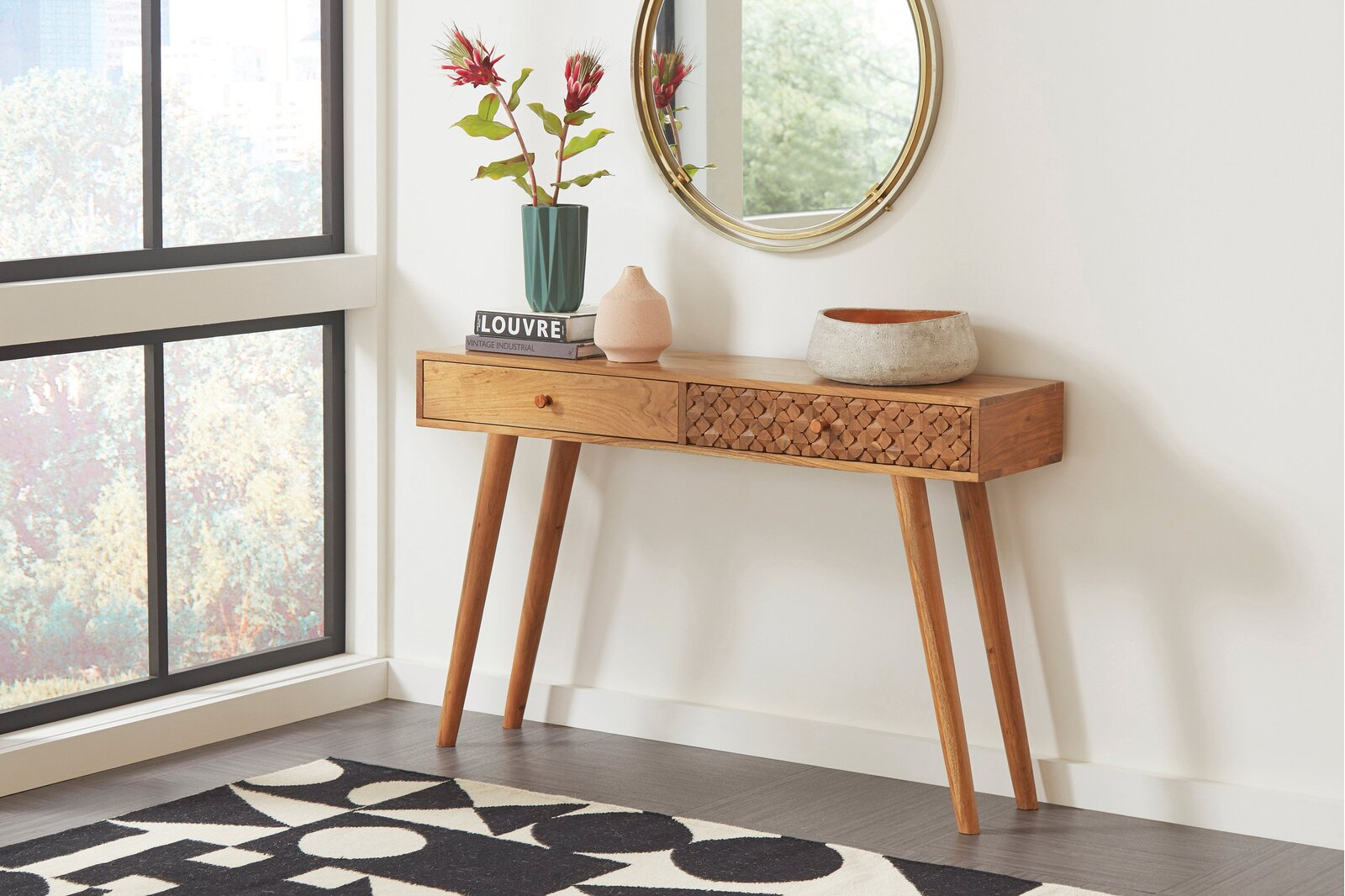Narrow Console Table for Small Spaces