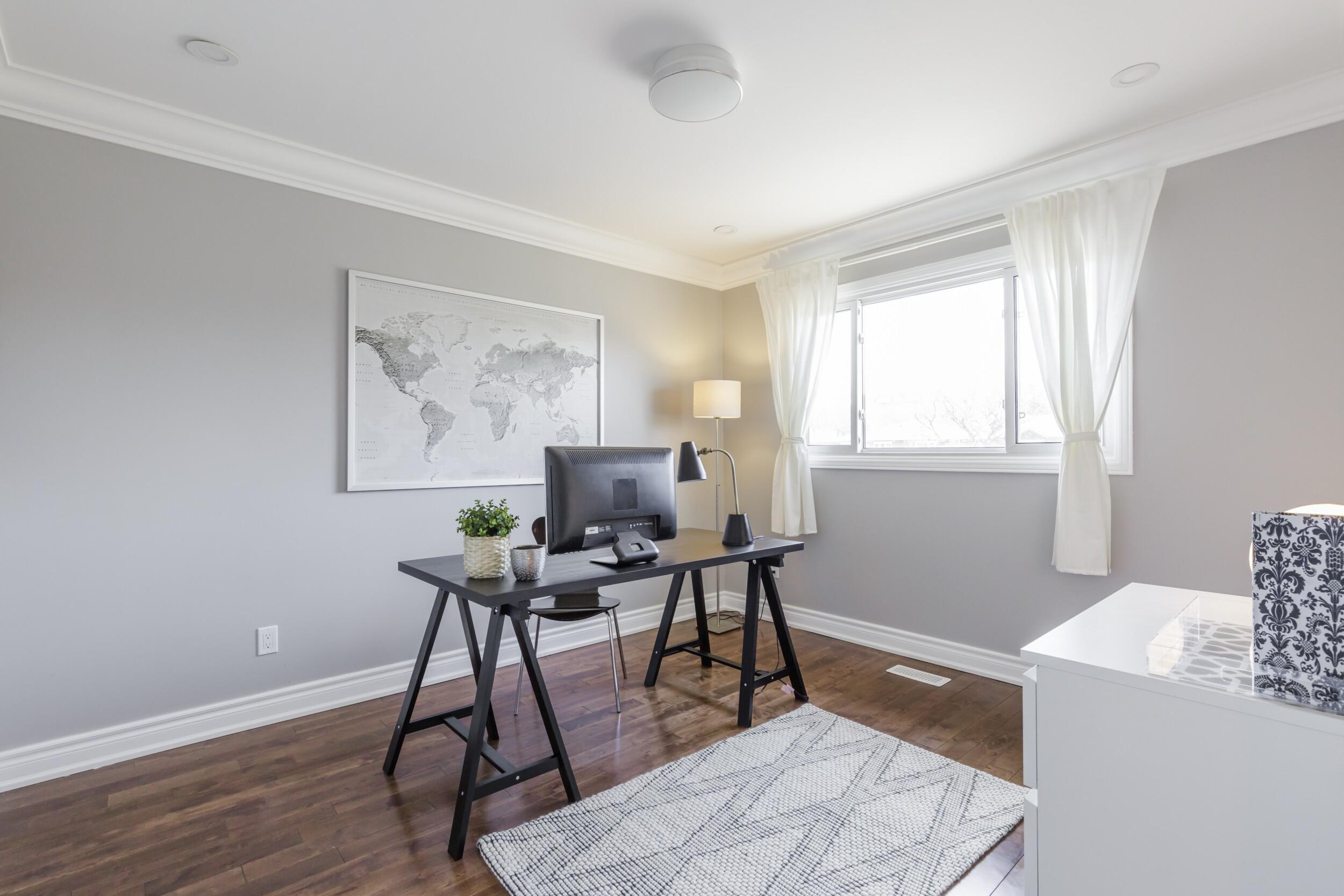 New Office Room Interior in North America