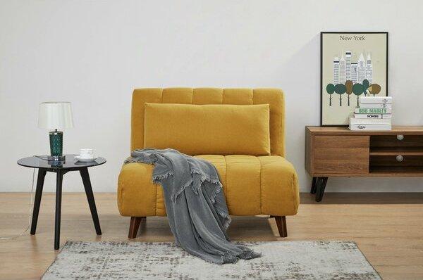 Retro Statement Sleeper Chair