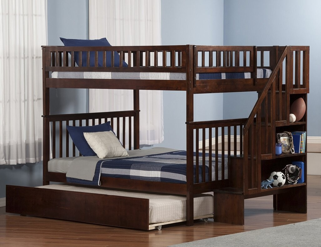 Roll Out With The Trundle Bunk Bed