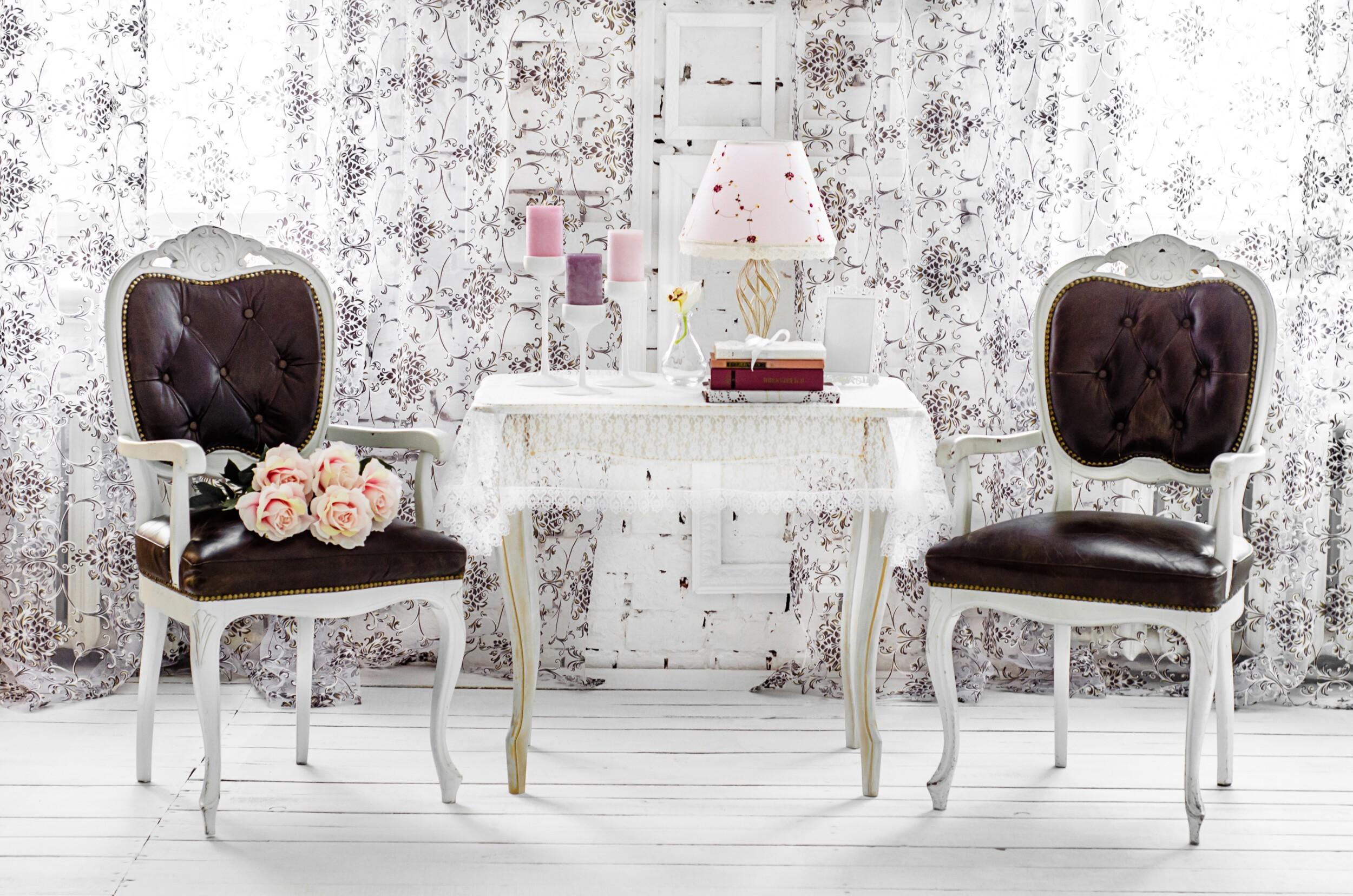 Shabby chic chairs
