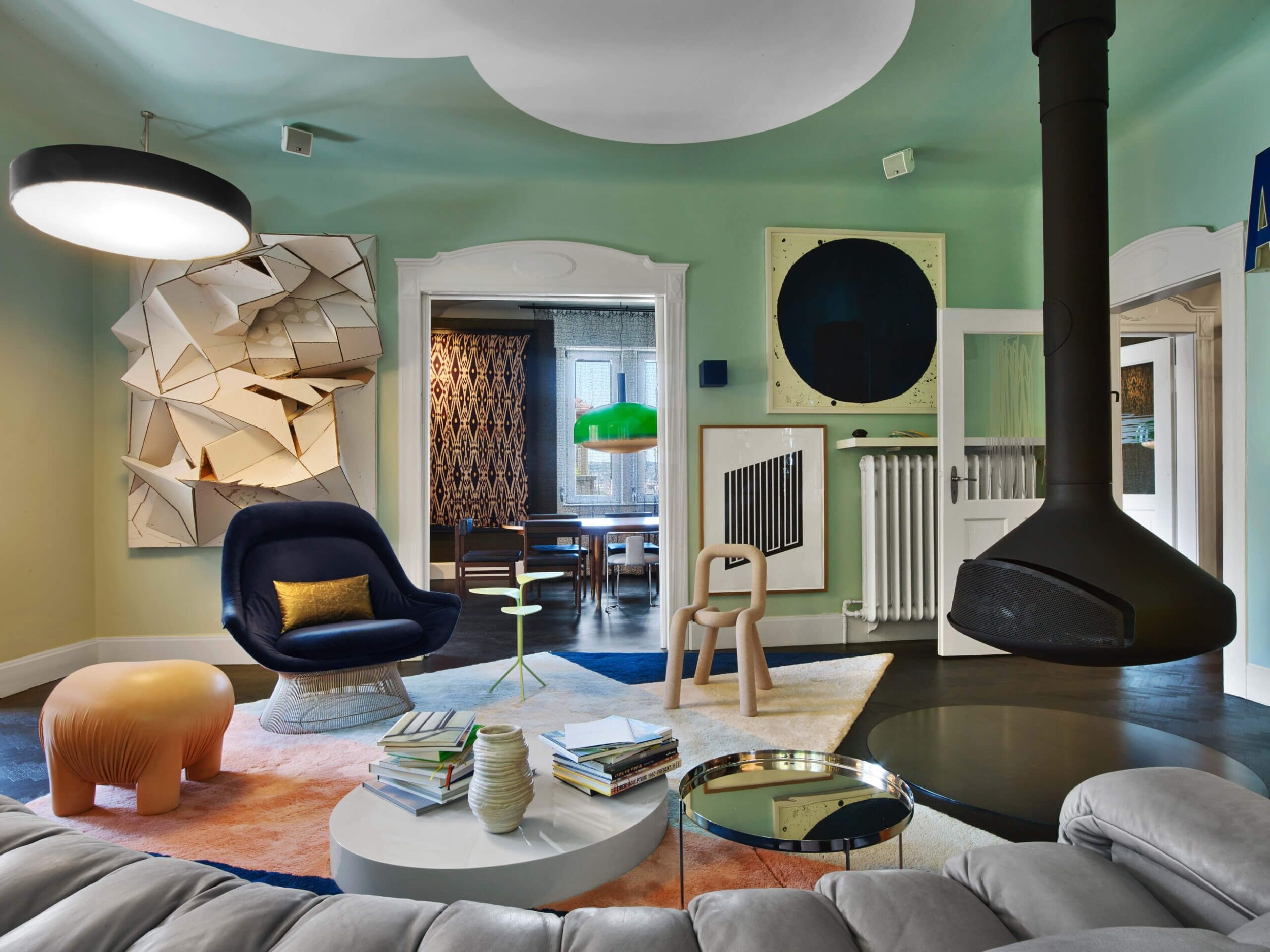 Eclectic style interior