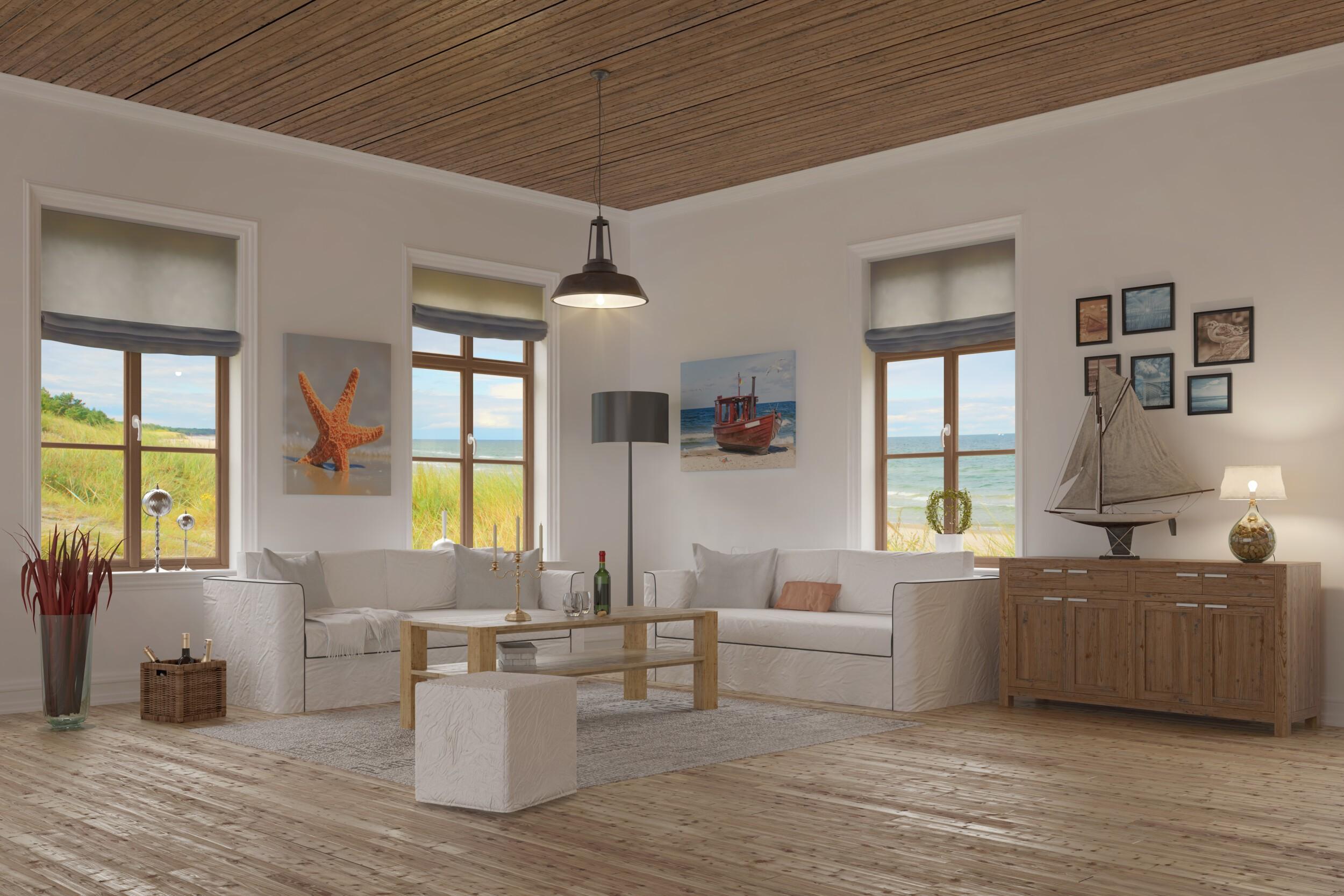 living room - baltic sea