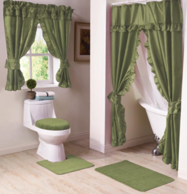 matching bathroom set