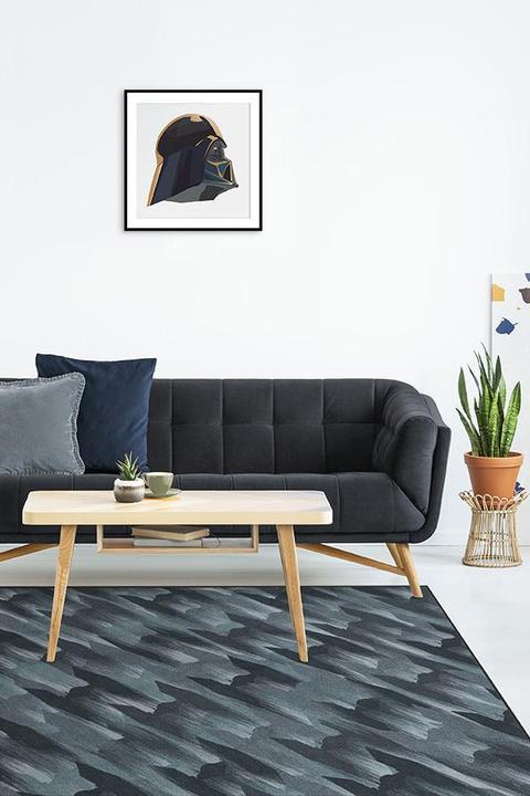 modern blue galactic battle rug
