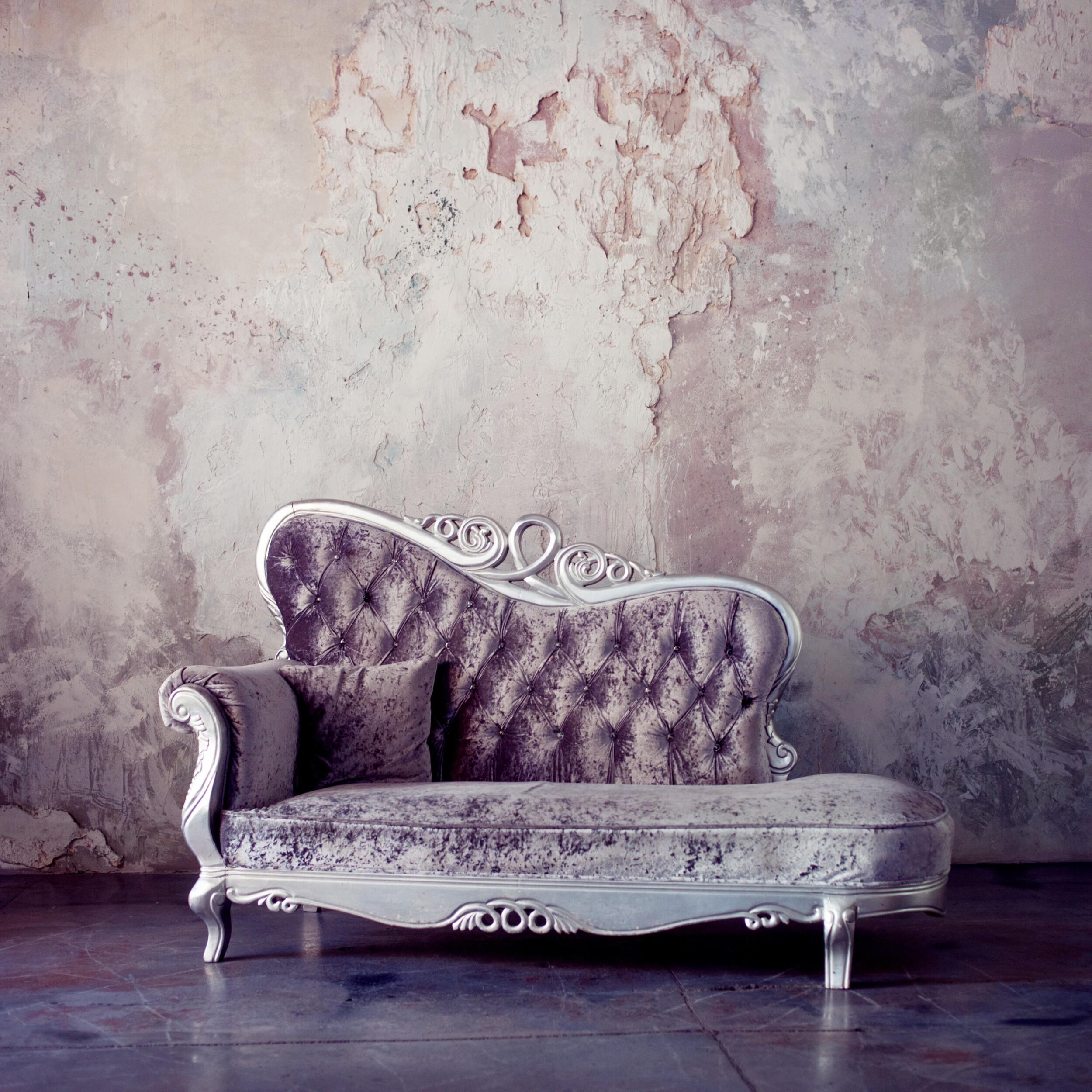 schaby chic sofa
