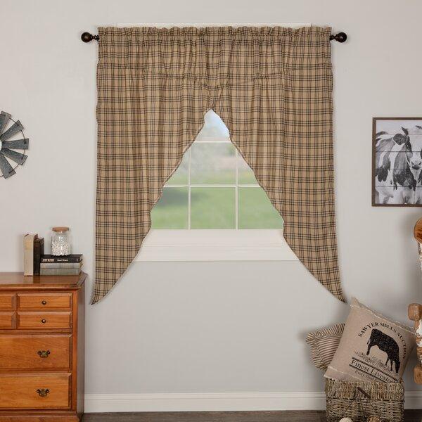 stunning plaid curtains