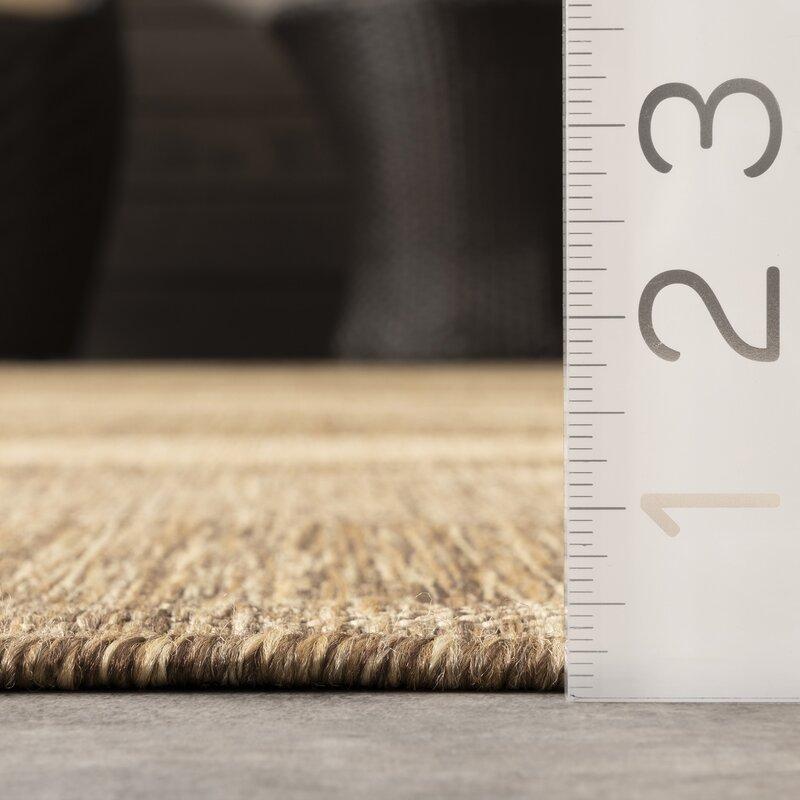brown kitchen rug