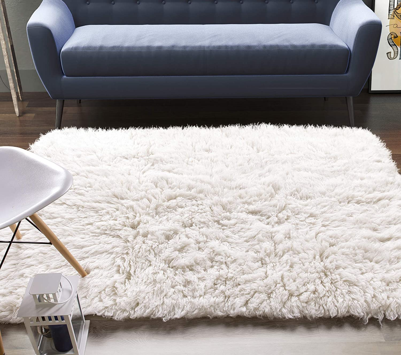 organic wool rug