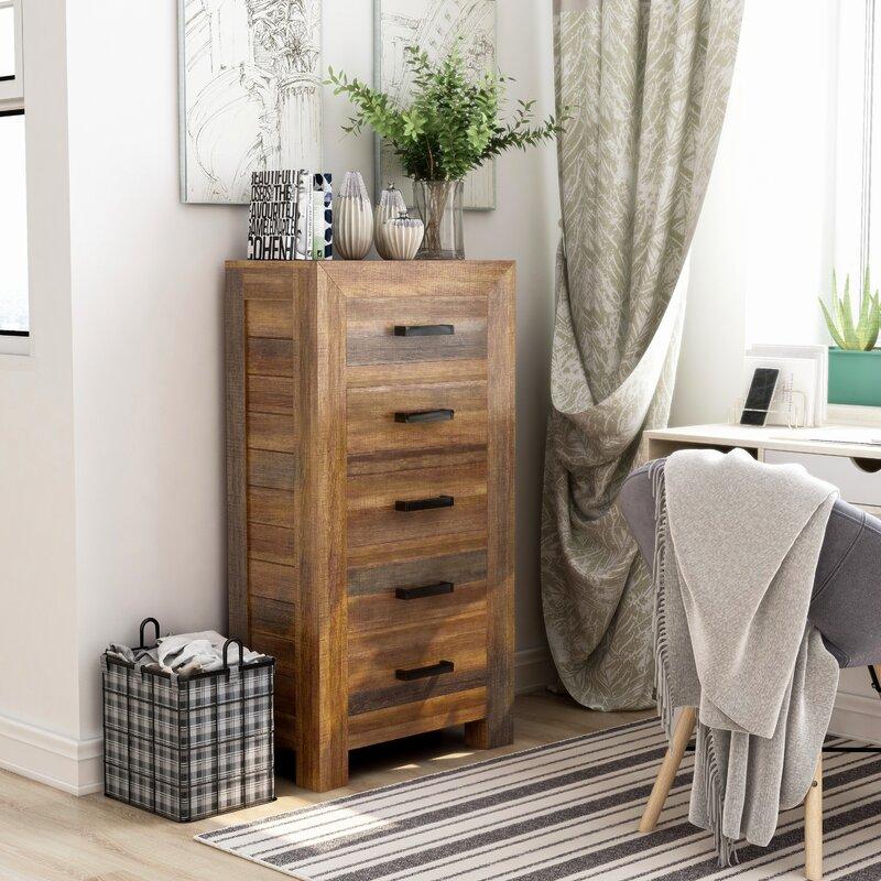 small narrow dresser