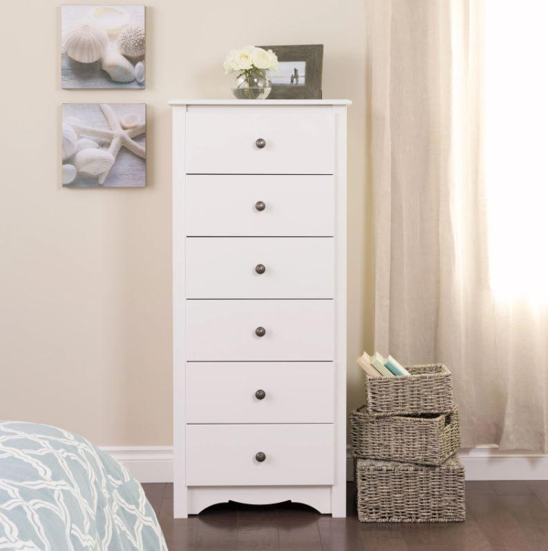 tall slim wooden dresser