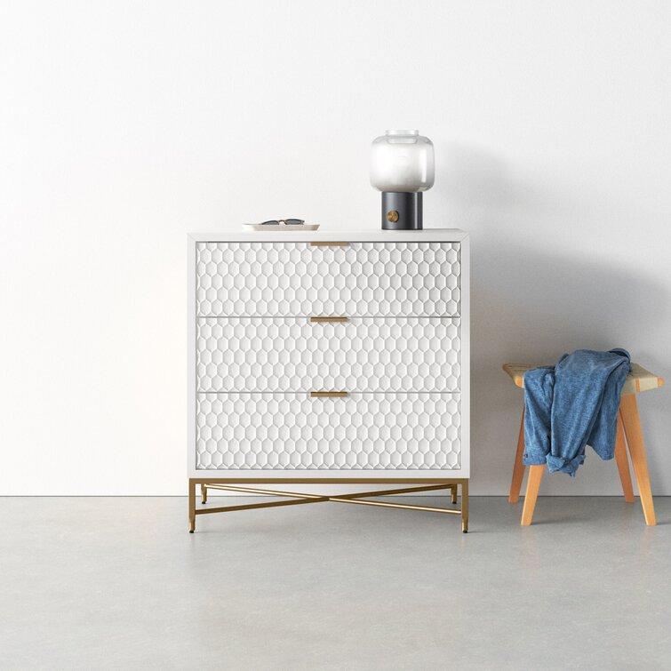 unique textured dresser