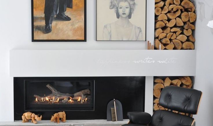 Stacked: How Firewood and Decor Become One